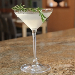 Dobel Tequila Rosemary Martini